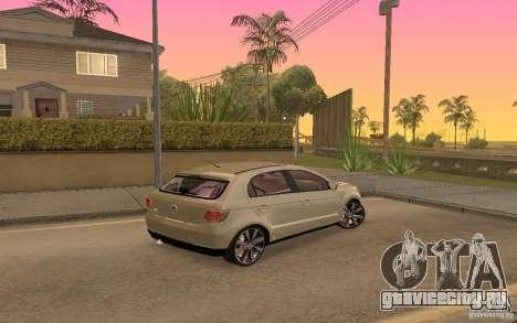 Volkswagen Gol G6 для GTA San Andreas вид справа