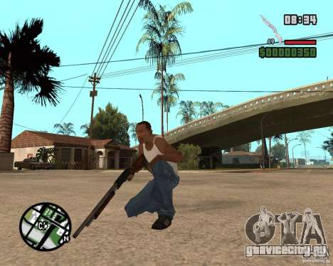 Chromegun HD для GTA San Andreas второй скриншот