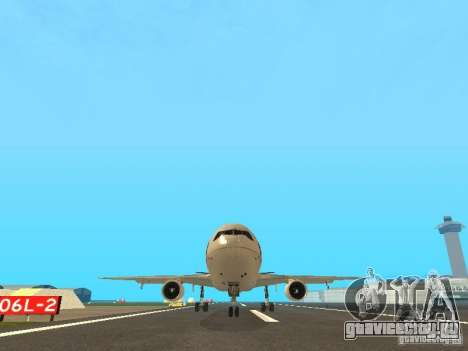 McDonell Douglas  DC 10 Thai Airways для GTA San Andreas вид сзади