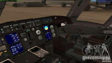 Boeing 757-200 Final Version для GTA San Andreas вид справа