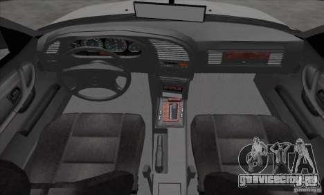 BMW 320i E36 для GTA San Andreas вид сзади