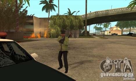 Новый Полицейский для GTA San Andreas пятый скриншот