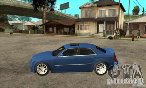 Chrysler 300C SRT 8 2008 для GTA San Andreas вид слева