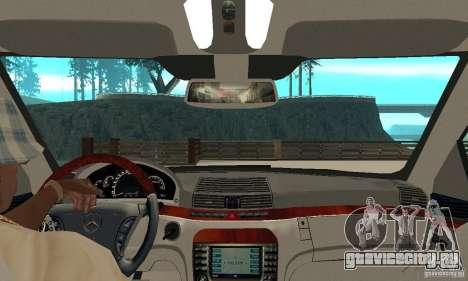 Mercedes-Benz S65 AMG 2004 для GTA San Andreas вид справа