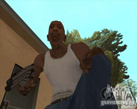 Smith Wesson HD + animation для GTA San Andreas второй скриншот