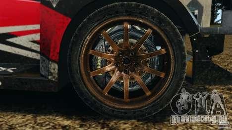 Colin McRae R4 Rallycross для GTA 4 вид сзади