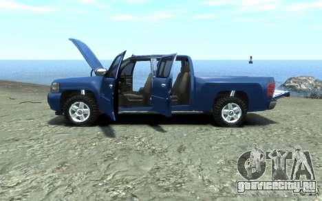Chevrolet Silverado 2008 для GTA 4 вид сбоку