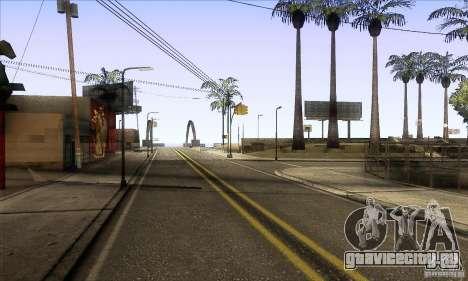 Grove Street Retextured для GTA San Andreas второй скриншот