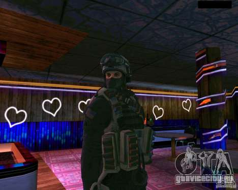 Второй скин солдата из CoD MW 2 для GTA San Andreas второй скриншот