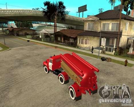 Пожарный автомобиль АВ-6 (130В1) для GTA San Andreas вид слева