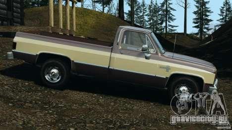 Chevrolet Silverado 1986 для GTA 4 вид слева