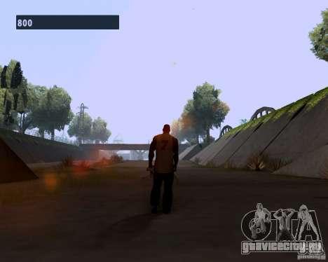 Гангстерская походка для GTA San Andreas третий скриншот