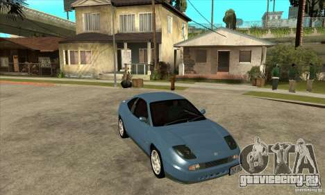 Fiat Coupe - Stock для GTA San Andreas вид сзади