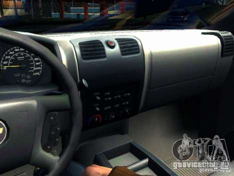 Chevrolet Colorado 2003 для GTA San Andreas вид сбоку