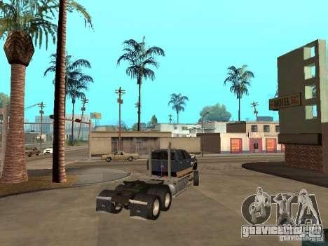 Dodge Ram для GTA San Andreas вид изнутри