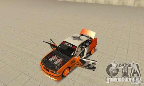 BMW Alpina B8 WideBody для GTA San Andreas вид сзади