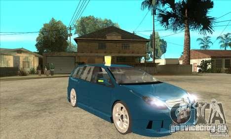 Citroen C5 Break для GTA San Andreas вид сзади