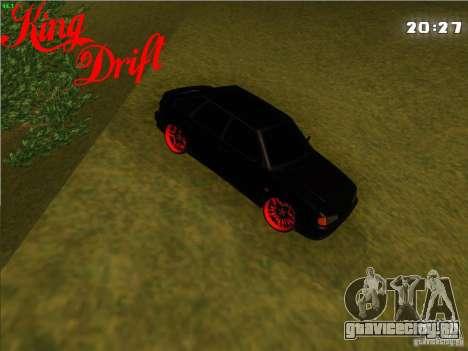 Ваз 2114 Devil Style для GTA San Andreas вид сзади слева