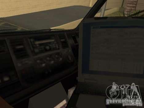 London Ambulance для GTA San Andreas вид справа
