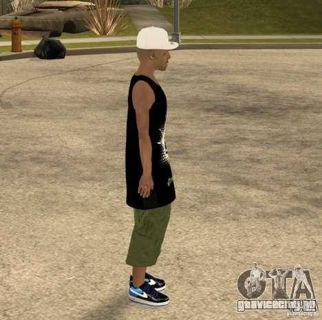 Cone Crew Skin для GTA San Andreas пятый скриншот