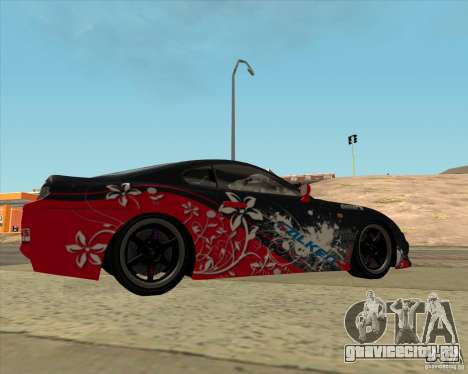 Toyota Supra by Cyborg ProductionS для GTA San Andreas вид слева
