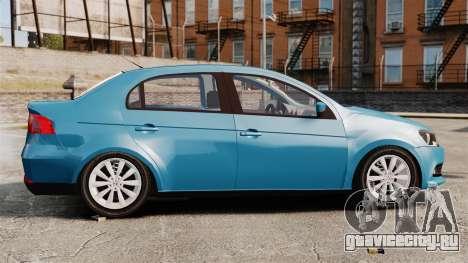 Volkswagen Voyage G6 2013 для GTA 4 вид слева