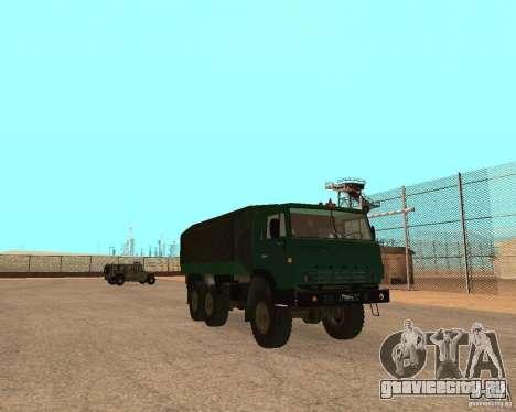 КамАЗ 4310 для GTA San Andreas вид сзади слева