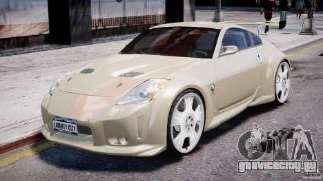 Nissan 350Z Veilside Tuning для GTA 4 вид слева