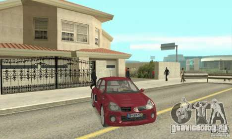 Renault Clio Phase 2 для GTA San Andreas