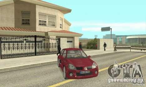 Renault Clio Phase 2 для GTA San Andreas