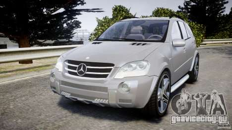 Mercedes-Benz ML63 AMG v2.0 для GTA 4
