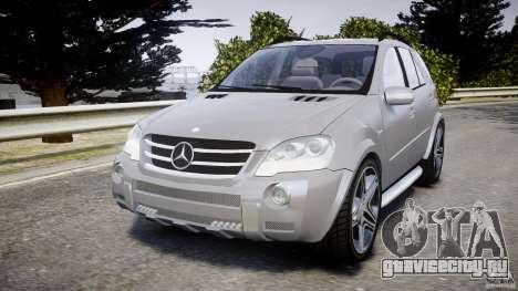 Mercedes-Benz ML63 AMG v2.0 для GTA 4