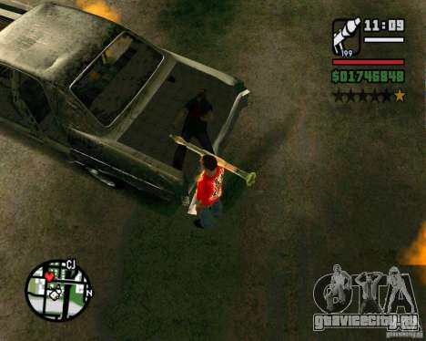 Plymouth Fury III для GTA San Andreas вид справа