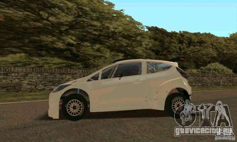 Ford Fiesta Rally для GTA San Andreas салон
