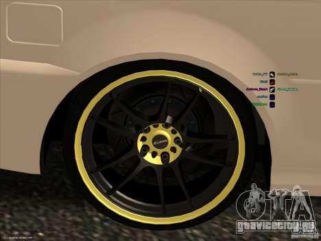 BMW M3 для GTA San Andreas вид сбоку