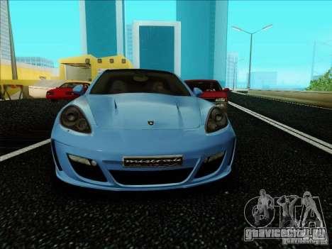 Gemballa Mistrale 2010 V1.0 для GTA San Andreas вид слева