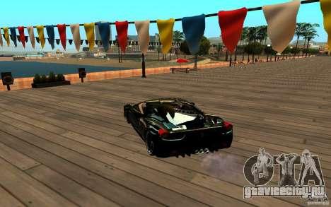 ENB для любых компьютеров для GTA San Andreas второй скриншот