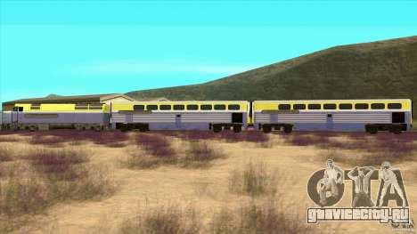 Latvian Train для GTA San Andreas вид слева