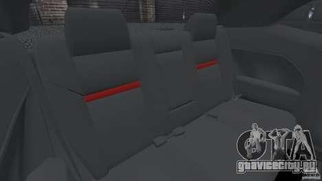Dodge Challenger SRT8 392 2012 для GTA 4 вид сбоку
