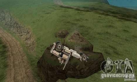 Peterbilt 289 для GTA San Andreas вид изнутри