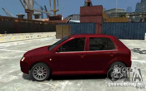 Skoda Fabia для GTA 4 вид слева