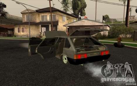 VAZ-2109 для GTA San Andreas вид слева