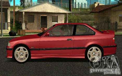 BMW E36 M3 1997 Coupe Forza для GTA San Andreas вид слева