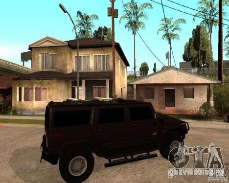 Hummer H2 SE для GTA San Andreas вид справа