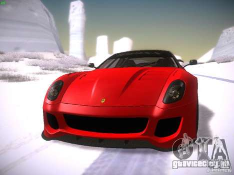 Ferrari 599XX для GTA San Andreas