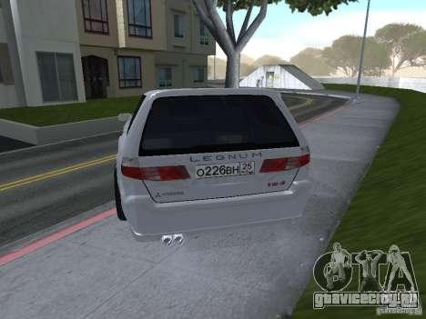 Mitsubishi Legnum для GTA San Andreas вид слева