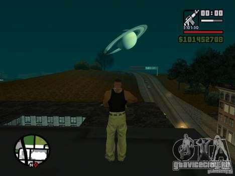 Saturn Mod для GTA San Andreas