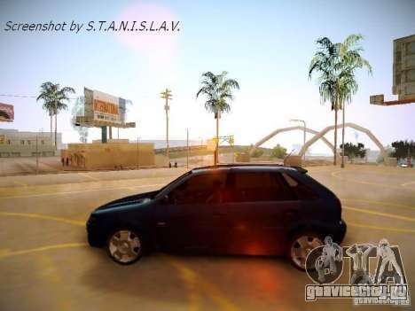 Volkswagen Golf V2.0 Final для GTA San Andreas вид справа