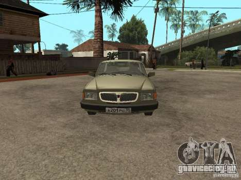ГАЗ 3110 v 1 для GTA San Andreas вид справа