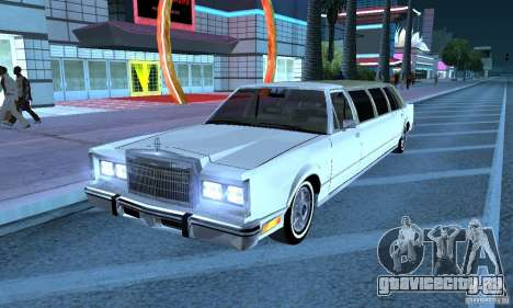 Lincoln Town Car 1986 Limo для GTA San Andreas